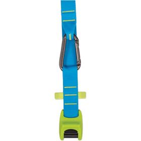 Sea to Summit Carabiner Lashing Strap 2,0m Pair, lime/blue